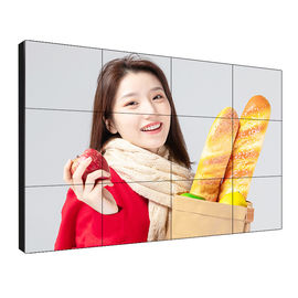 Centro comercial Lcd Ultra Narrow Bezel Video Wall 55 '' 0.88mm Alta Resolución 3840 * 2160