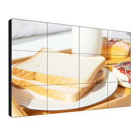 "Pantalla de pared de video LCD de azulejos 46 ""Super Narrow Bezel 3.5 / 1.7mm LED retroiluminado 180W"
